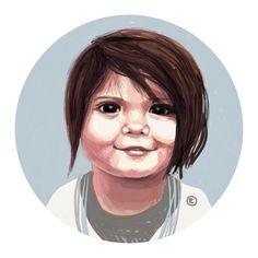Portraits - order yours on Etsy www.etsy.com/shop/blueshineart #etsy#portraits#custom#handmade#blueshineart#charlottehamilton