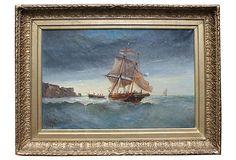 HOME DECOR – COASTAL STYLE – Le Havre Harbor by P. Seignon on OneKingsLane.com
