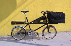 Why You Should Be On A Cargo Bike/James Black's custom cargo bike made by David Wilson