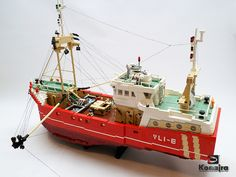beamtrawler VLI-8 fishing #flickr #LEGO #MOC
