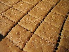 Chef Tess Bakeresse: Homemade Club crackers,Wheat Thins, Graham Crackers