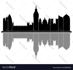 London skyline Vector Image by Mark1987