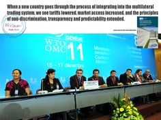 """Azevêdo: """"WTO accession is a success story of the organization""""    Success Story, World Trade, 20 Years, Events, Marketing, Learning, Organization, Happenings, Education"""