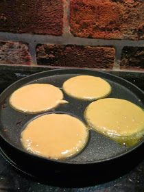 Sweet Desserts, Griddle Pan, Baking Recipes, Baking Ideas, Sweet Tooth, Food And Drink, Sweets, Cooking, Pancakes