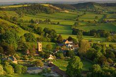 The Village of Corton Denham, Somerset