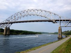 Biking along the Cape Cod Canal