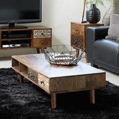 Dekorativ sofabord - #indretning #rustikkemøbler #interiordesign #interiorbutikkendk #interiør #interiørdesign #boligindretning #dekorativ #rustikindretning #sofabord Decor, Table, Furniture, Retro, Home Decor, Coffee Table