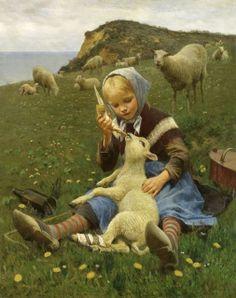 Feeding the Lamb by Hans Ole Brasen