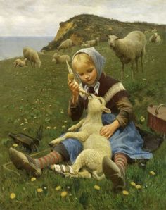 Feeding the Lamb by Hans Ole Brasen