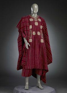 Man's garment (agbada), Yoruba peoples, 1980's.