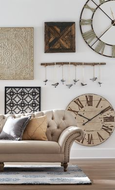 Falling in love with this gallery wall. HomeDecorators.com #summerfun