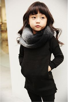 LOVE little Infiniti scarf.