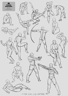 #figuredrawing #art #anatomy #female #male #poses #sketch #studies