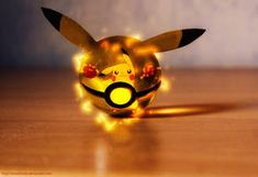 Pikachu was finally caught into a Pokeball ! or a PikaBall ? The Pokeball of Pikachu Cool Pokemon Wallpapers, Cute Pokemon Wallpaper, Cute Disney Wallpaper, Pikachu Drawing, Pikachu Art, Pikachu Pokeball, Pokemon Photo, Pokemon Fan, Pokemon Terrarium