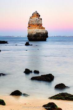 Promessa para 2013: Conhecer lugares novos.   Praia Dona Ana, Algarve, Portugal