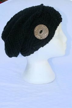 Crochet Slouchy Hat, Crochet Hats, Beanie, Awesome, Winter, Shop, Etsy, Color, Winter Time