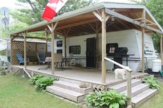 metal rv carports with living space - Google Search …