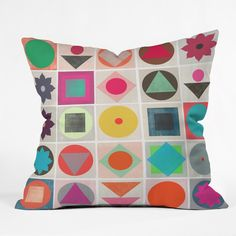 Garima Dhawan Awake 4 Throw Pillow   DENY Designs Home Accessories