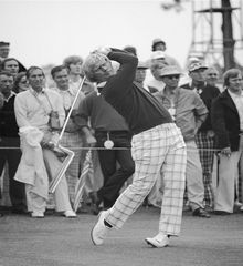 """JACK NICKLAUS:         In 1964, legendary golfer Jack Nicklaus uncharacteristically fell out of form. Nicklaus was not threatening in tournaments because he was hitting scores in the high seventies, then all of a sudden, his prowess returned. Nicklaus explained the turn around as such...    """"Wednesday night I had a dream and it was about my golf swing. I was hitting them pretty good in the dream and all at once I realized I wasn't holdin..."""