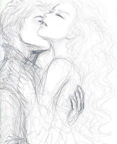 cute couple drawings, love drawings, art drawings, sketching tips, drawin Couple Sketch, Cute Couple Drawings, Love Drawings, Couple Art, Pencil Art Drawings, Art Drawings Sketches, Romantic Drawing, Sketches Of Love, Anime Sketch