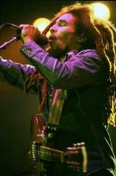 Bob Marley live in Copenhagen, Denmark, 1980