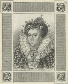 Queen Elizabeth I  after Unknown artist stipple engraving, early 19th century 3 1/8 in. x 2 1/2 in. (80 mm x 65 mm) paper size Given by the daughter of compiler William Fleming MD, Mary Elizabeth Stopford, 1931 NPG D25021