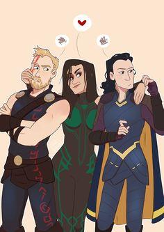 Cómics e imagenes Thor x Loki Loki E Thor, Hela Thor, Marvel Dc Comics, Marvel Heroes, Marvel Avengers, Marvel Hela, Funny Marvel Memes, Marvel Jokes, Loki Laufeyson