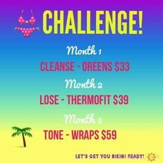 Try the It Works 90 day challenge! Chelsea Nahrwold Text/call- 615-587-4198 Email- skinnywrapgirl33@gmail.com Website- http://skinnywrapgirl33.myitworks.com Facebook- https://www.facebook.com/skinnywrapgirl33 Kik- ItWorksChels