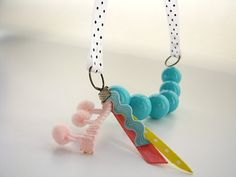 charming little girl necklace