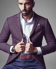 Scotch & Style Scottish Fashion, Picture Outfits, Black N Yellow, Dapper, Your Photos, Outfit Of The Day, Suit Jacket, Handsome, Menswear