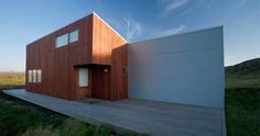 Cedar & Corrugated Iron