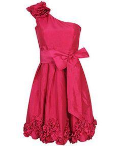 Fuchsia Cocktail Dress.