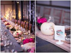 Downtown Denver Halloween Wedding candlelight reception | Cara and Alex | Shot with Hillary Kaye Photography