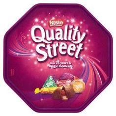 Quality Street Chocolates Tub