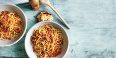This Spaghetti Bolognese recipe from Manu's cookbook More Please! is his son's favourite meal. – I Quit Sugar