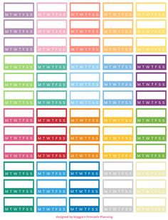 Maggie's Printable Planning is creating Printable Planner Stickers   Patreon