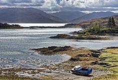 Island of Skye at Loch Hourn, Scotland  © Jochen Mohr