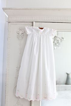 Princess Rose Christening Gown