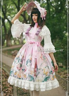 Surface Spell ***Au nom de la rose*** Vintage Lolita JSK $120.99- Lolita Dresses - My Lolita Dress