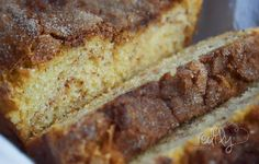 The Amazing Amish Cinnamon Bread Alternative. It requires no starter but is just as moist and delicious as the original. Always a hit.