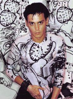 Johnny Depp,a work of art.