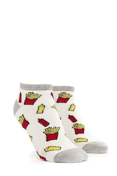 Fries Graphic Ankle Socks