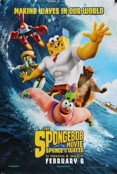 Spongebob Movie: Sponge Out of Water (2015)