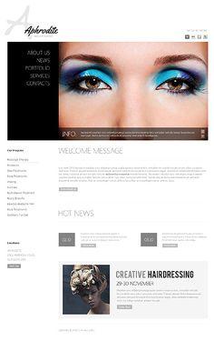 Aphrodite Beauty Joomla Templates by Delta