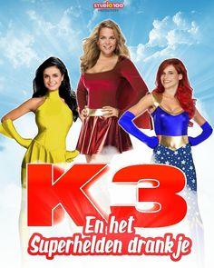 Hoe zouden jullie het vinden als er nog een K3 superhelden film kwam? Ik zou het geweldig vinden stelen is taggen x De Wereld van K3