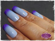 Thermo Top Coat Violet - Bow Nail Polish   #bow #bowpolish #esmaltadasdapatydomingues