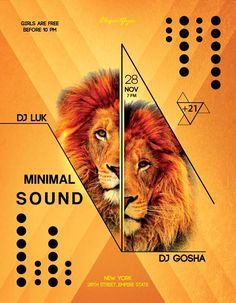 Animal Sound Free Flyer Template - http://freepsdflyer.com/animal-sound-free-flyer-template/ Enjoy downloading the Animal Sound Free Flyer Template created by Elegantflyer!   #Club, #Cosmic, #Dance, #Dj, #Electro, #Event, #Fall, #Festival, #Nightclub, #Party, #Techno, #Trance