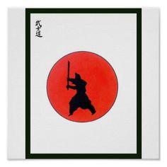 Japanese Bushido Way Of The Warrior Poster