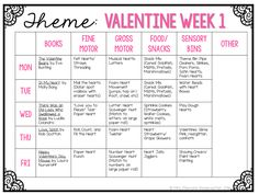 Tons of interesting Valentines themed ideas for tot school, preschool, or the kindergarten classroom.