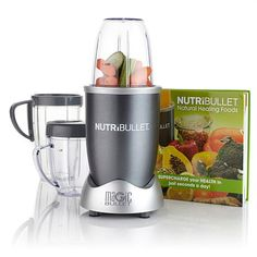 Nutribullet by Magic Bullet with Natural Foods Book